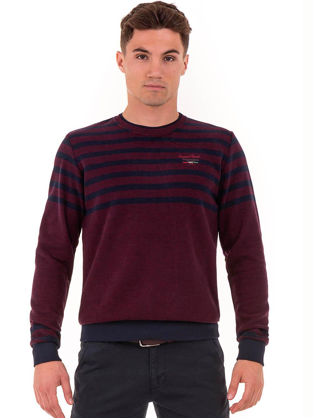 90dd2d150ff Мъжки пуловер цвят бордо MCL - големи размери   Пуловери от INDIGO Fashion