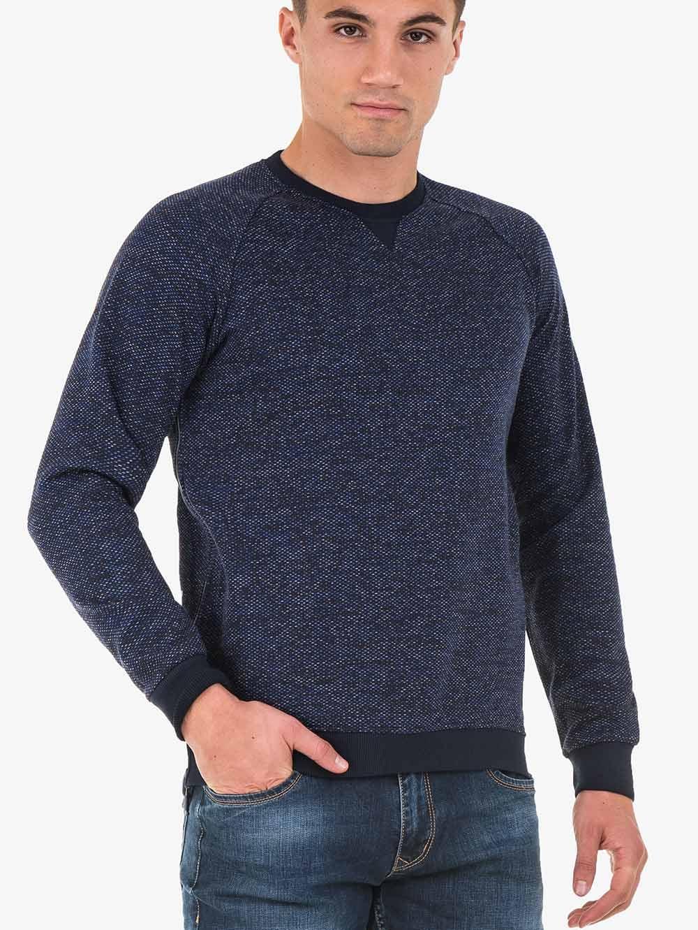 cb35386819e Мъжки пуловер MCL - тъмно син   Пуловери от INDIGO Fashion