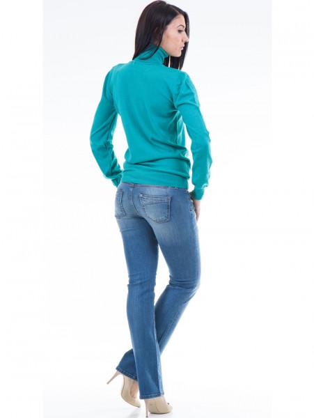 Класически дамски дънки CONS 390 - светъл деним E