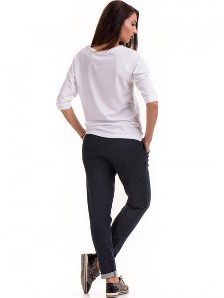 Дамски  спортен панталон JOGGY GIRLS 5421 - тъмно син E