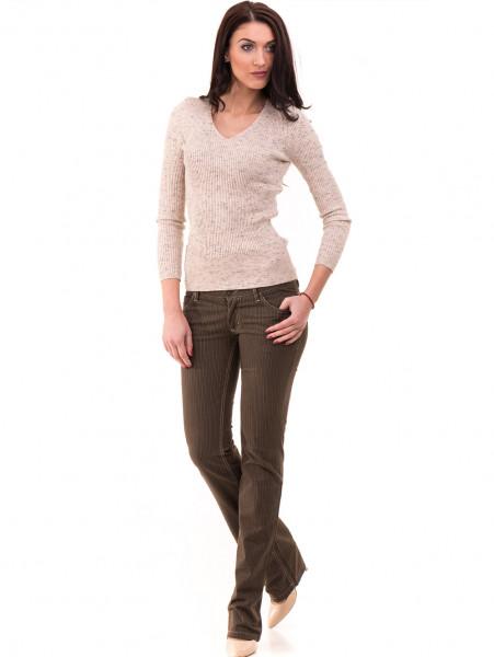 Дамски панталон JUNKER 1336 - цвят каки C