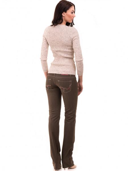 Дамски панталон JUNKER 1336 - цвят каки E