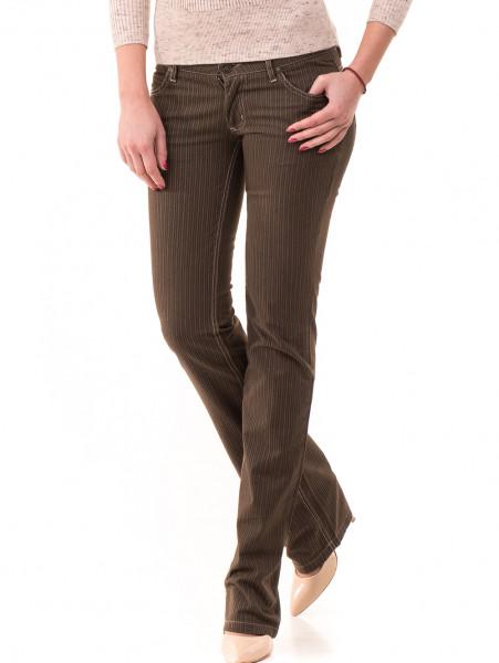 Дамски панталон JUNKER 1336 - цвят каки