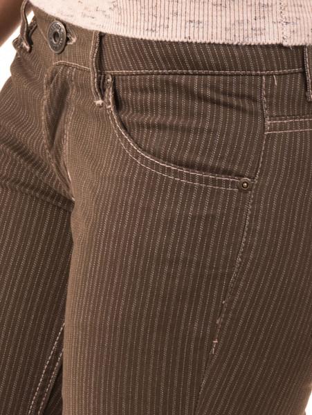 Дамски панталон JUNKER 1336 - цвят каки D
