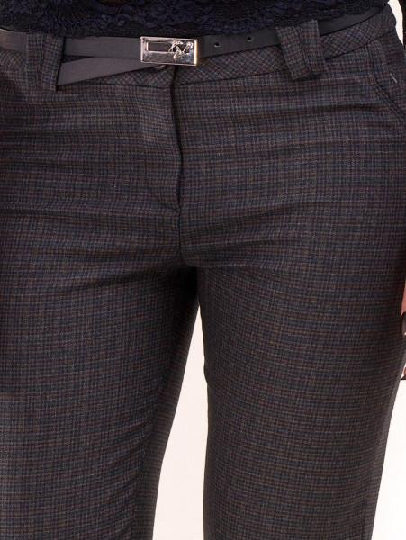 Елегантен дамски панталон KYLIE 437 - тъмно син D