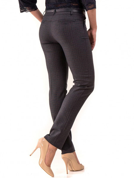 Елегантен дамски панталон KYLIE 437 - тъмно син B