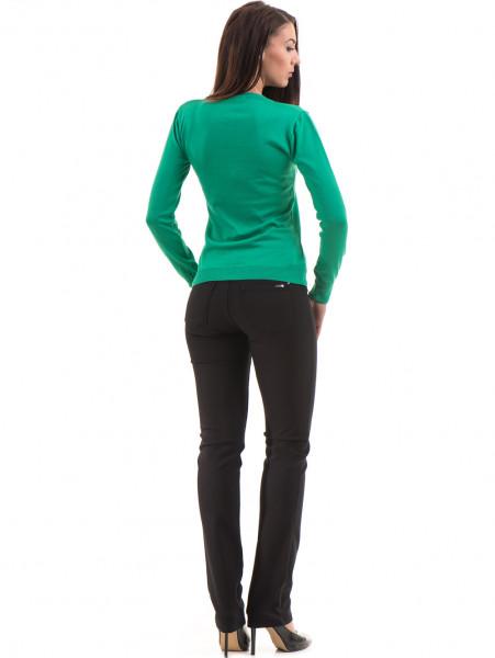 Дамски панталон LACARINO 3661 - черен E