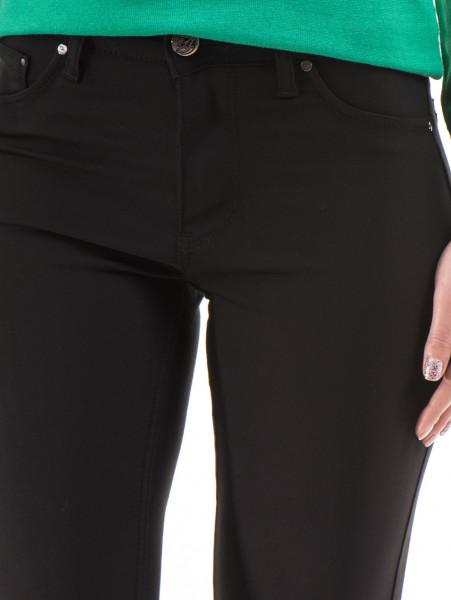 Дамски панталон LACARINO 3661 - черен D