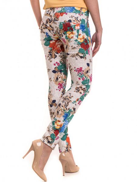 Дамски панталон MISS POEM 43728 - светло бежов B