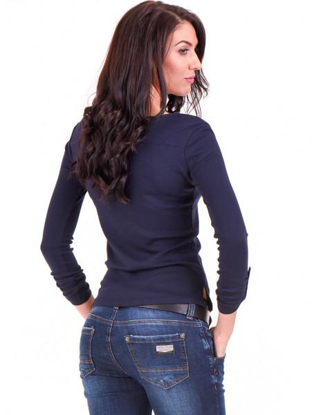 Дамска спортна блуза STAMINA 201 - тъмно синя B