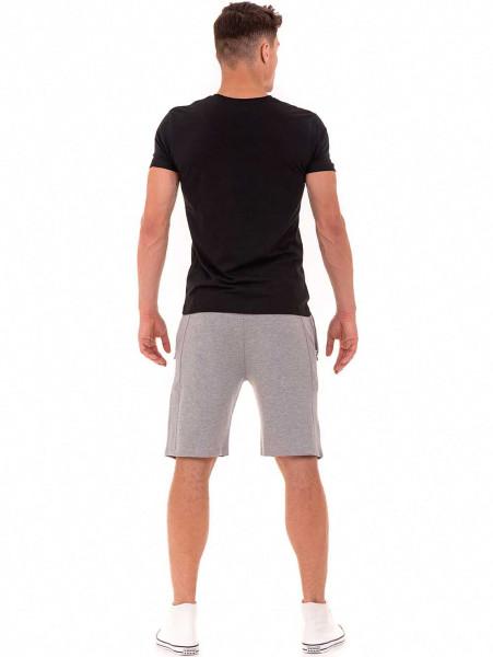 Мъжки спортни бермуди MCL 15200- светло сиви E