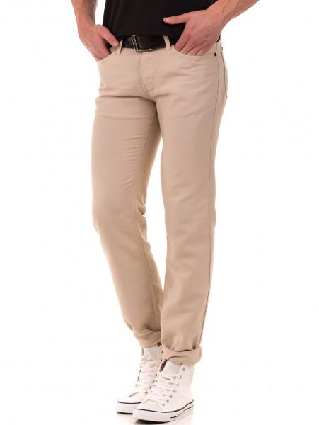 Класически мъжки панталон LACARINO 1022 - светло бежово