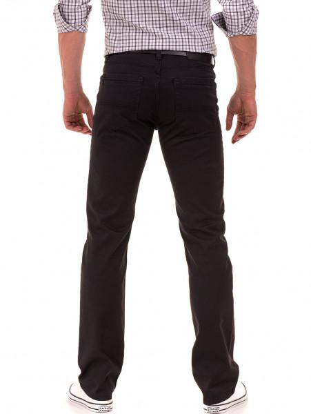 Класически мъжки панталон  LACARINO с колан 3071 - тъмно сив B