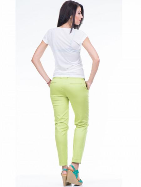 Дамска тениска с флорален десен JOGGY GIRLS 4862 - цвят екрю E
