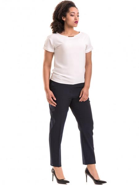 Дамска елегантна блуза PRETTY LOLITA 11568 - цвят екрю C
