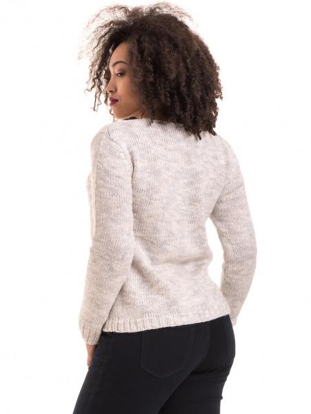 Дамско плетиво XINT 028 - светло сиво B