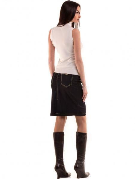 Дамска блуза JOGGY GIRLS без ръкав 2713 - цвят екрю E