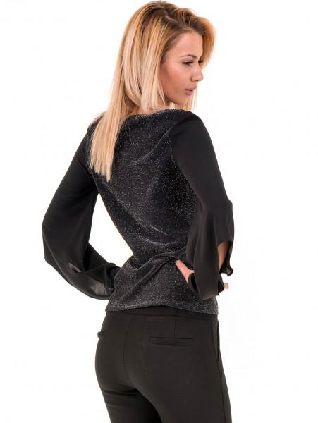 Дамска елегантна блуза PRETTY LOLITA 12254 - черна B