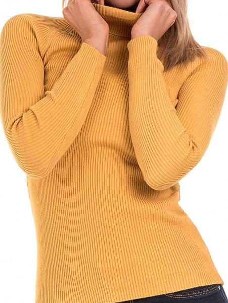 Дамска поло блуза STAMINA 18673 - цвят горчица D