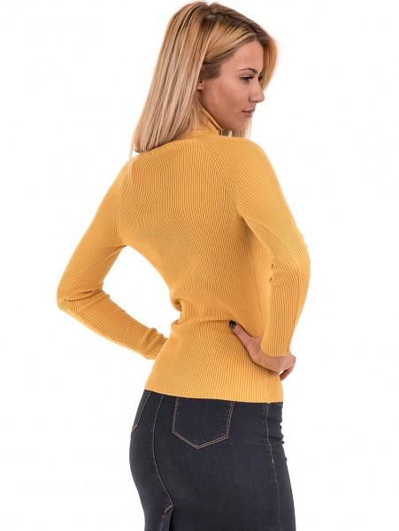 Дамска поло блуза STAMINA 18673 - цвят горчица B