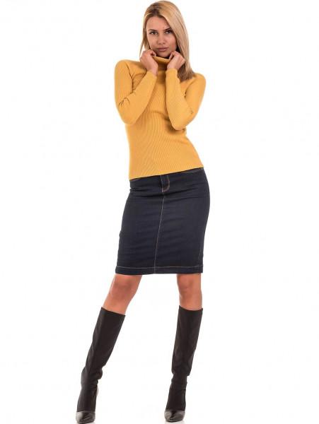 Дамска поло блуза STAMINA 18673 - цвят горчица C