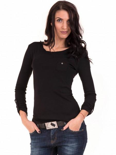 Дамска спортна блуза STAMINA 201 - черна