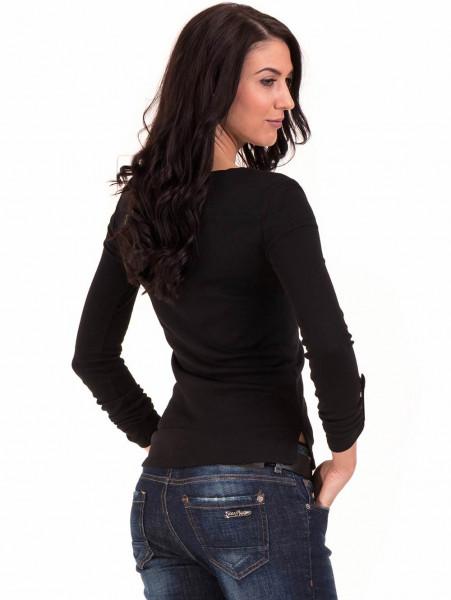 Дамска спортна блуза STAMINA 201 - черна B