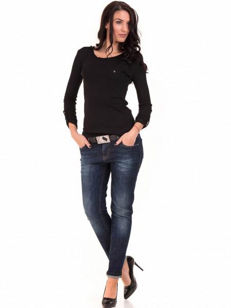 Дамска спортна блуза STAMINA 201 - черна C