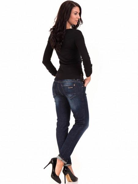 Дамска спортна блуза STAMINA 201 - черна E