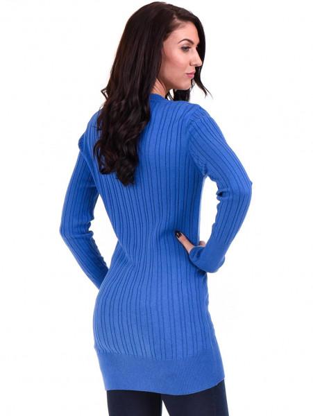 Туника от фино плетиво STAMINA 002 - синя B