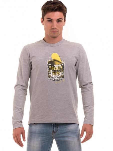 Мъжка спортна блуза ICEBOYS 1033 - светло сива