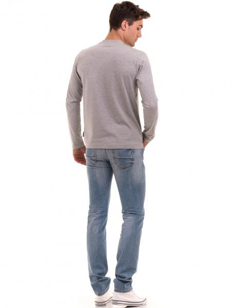 Мъжка спортна блуза ICEBOYS 1033 - светло сива E