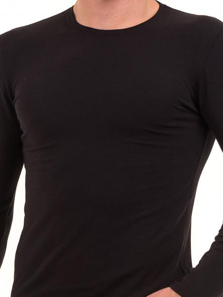 Мъжка спортна блуза MCL 27963 - черна D