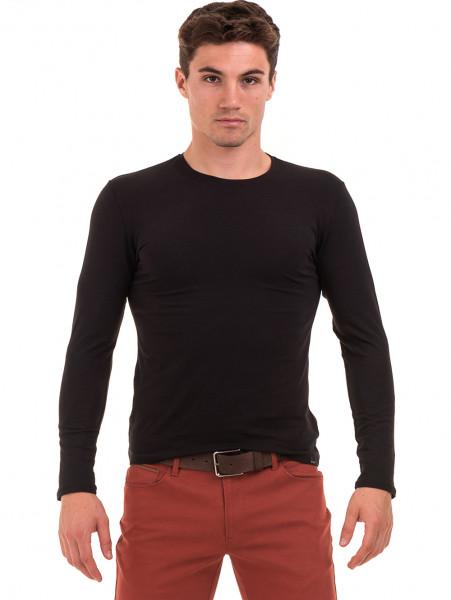 Мъжка спортна блуза MCL 27963 - черна