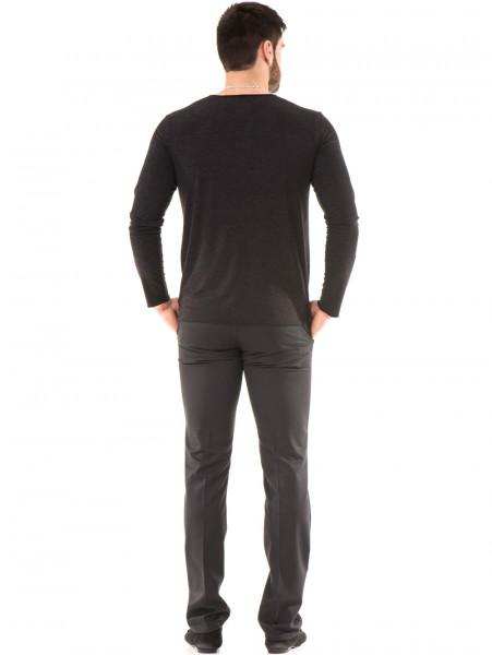 Мъжка спортна блуза XNT 641 - черна E