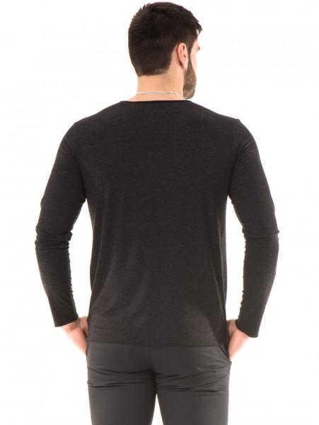 Мъжка спортна блуза XNT 641 - черна B