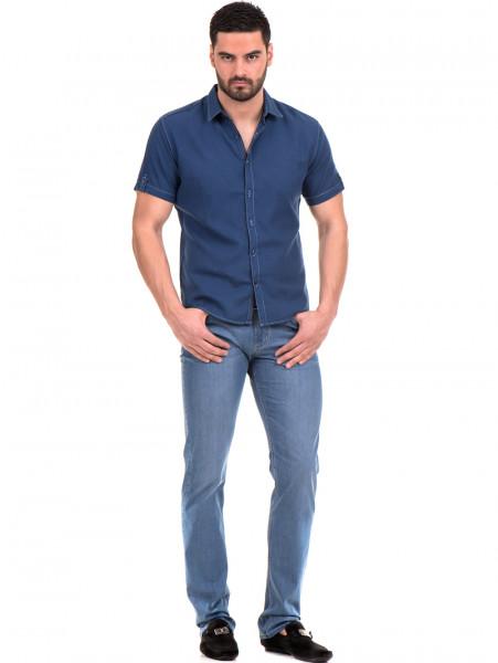 Спортна риза SEMCO B445 - тъмно синя C