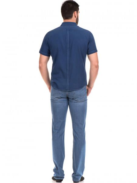 Спортна риза SEMCO B445 - тъмно синя E