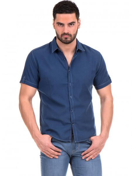 Спортна риза SEMCO B445 - тъмно синя