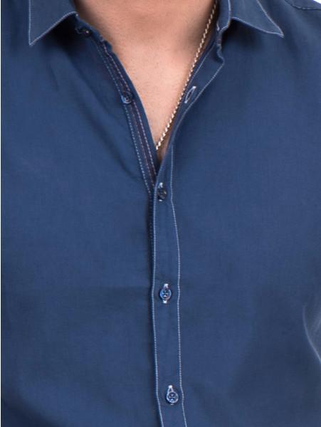 Спортна риза SEMCO B445 - тъмно синя D