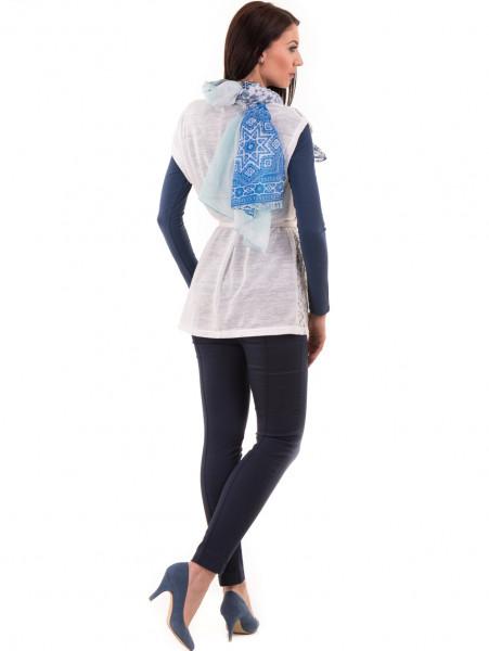 Елегантна дамска жилетка с дантела  BUTELLA 103 - цвят екрю E