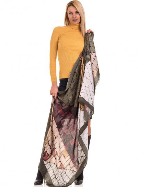 Дамска поло блуза STAMINA 18673 - цвят горчица C2