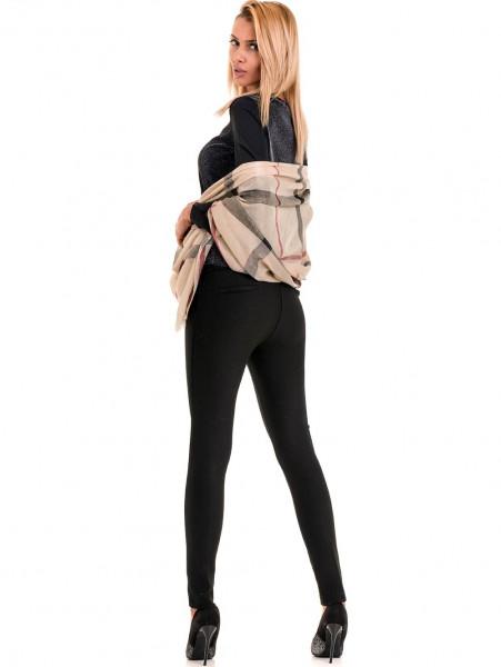 Дамска елегантна блуза PRETTY LOLITA 12254 - черна C1