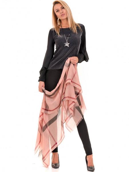 Дамска елегантна блуза PRETTY LOLITA 12254 - черна C2