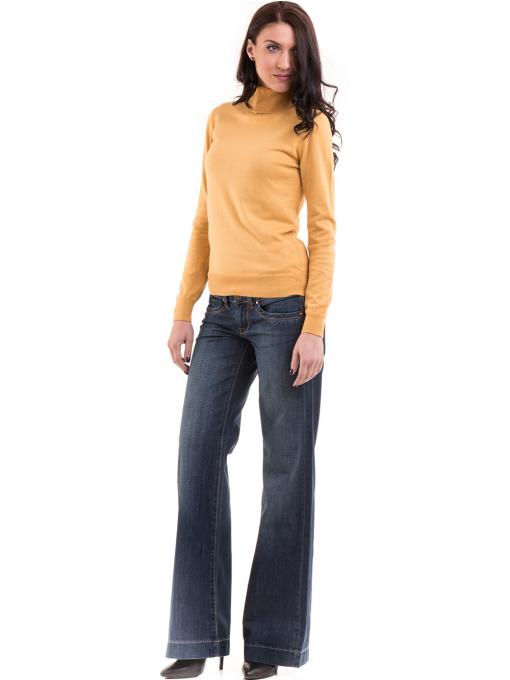 Дамска блуза STAMINA 17001 - цвят горчица C1