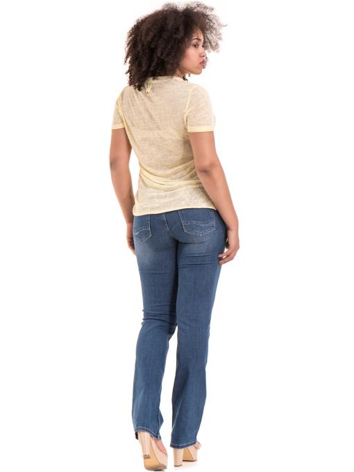 Класически дамски дънки LACARINO 3900 - деним E