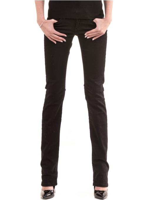 Класически дамски панталон CONS 234 - черен