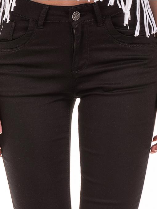 Дамски спортно-елегантен панталон DESPERADO 615 - черен D