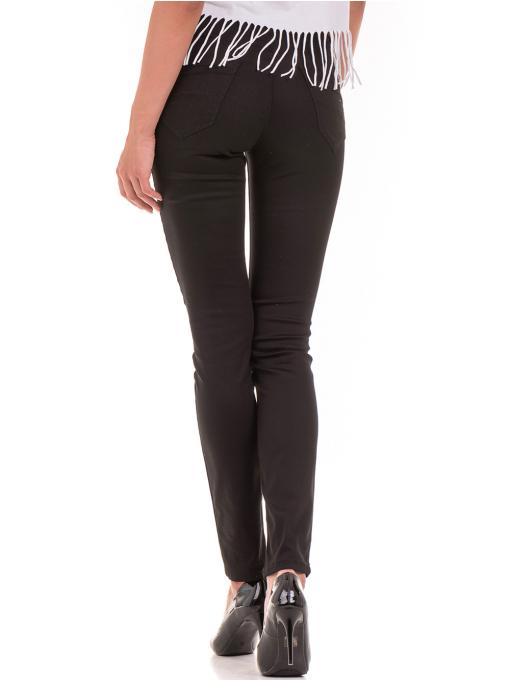 Дамски спортно-елегантен панталон DESPERADO 615 - черен B