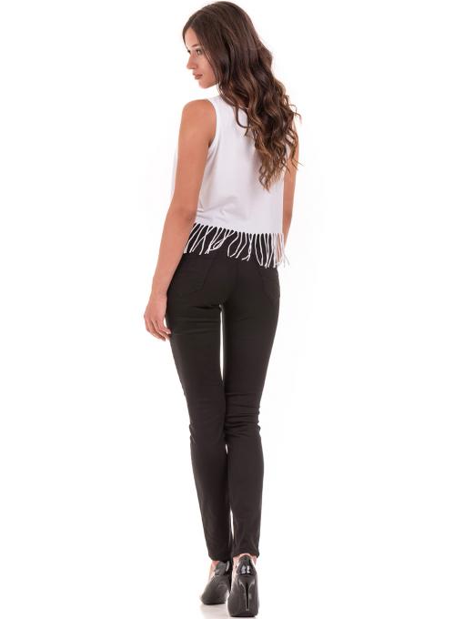 Дамски спортно-елегантен панталон DESPERADO 615 - черен E